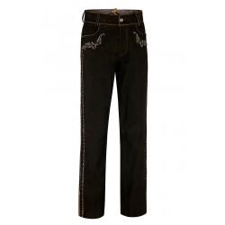 Long Leather Pants